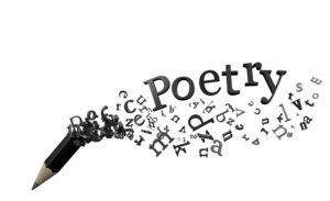 pencil writing poetry