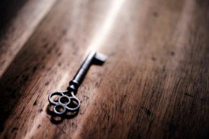 tiny key clue