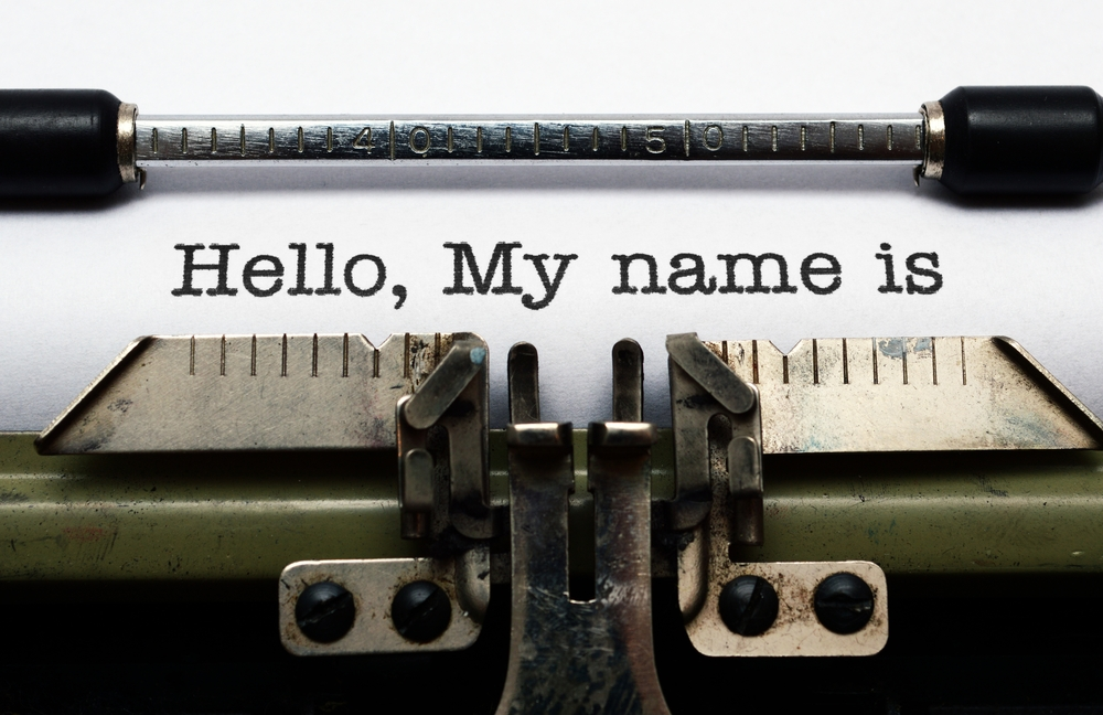 What's in a Name: Choosing Character Names