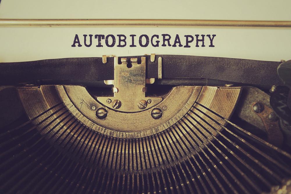 autobiography typewriter