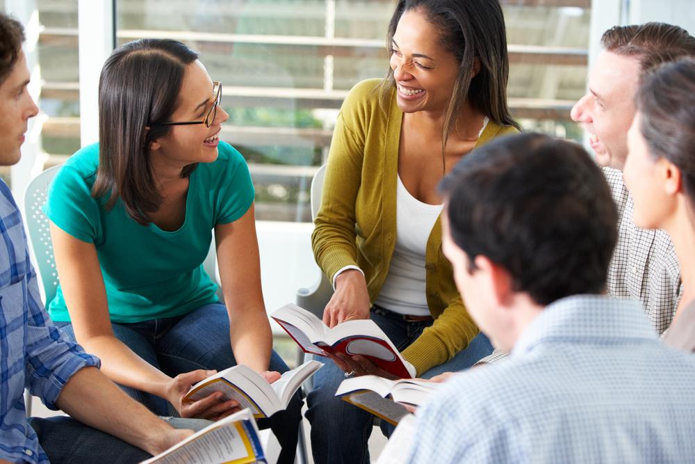 Book Club laughing
